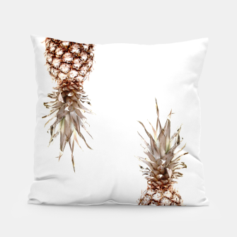 Thumbnail image of Two pineapples Pillow, Live Heroes