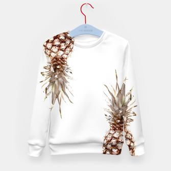 Thumbnail image of Two pineapples Kid's sweater, Live Heroes