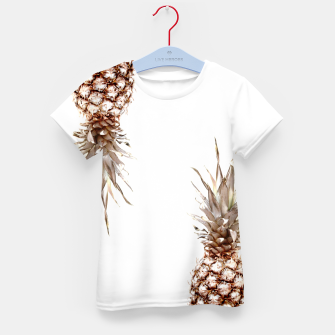 Thumbnail image of Two pineapples Kid's t-shirt, Live Heroes