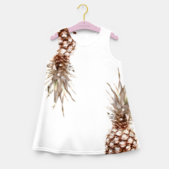 Thumbnail image of Two pineapples Girl's summer dress, Live Heroes