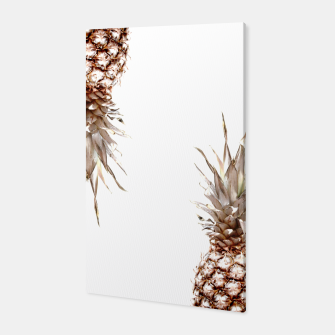 Thumbnail image of Two pineapples Canvas, Live Heroes