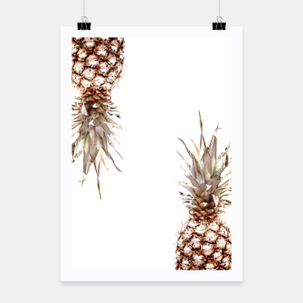 Thumbnail image of Two pineapples Poster, Live Heroes