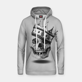 Thumbnail image of The Hustler Cotton hoodie, Live Heroes