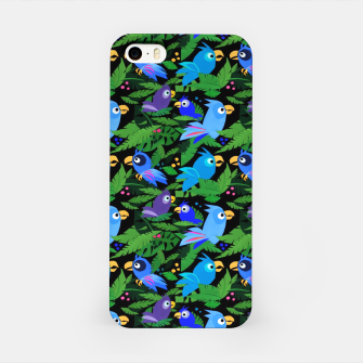 Thumbnail image of Blue Jungle Birds – iPhone Case, Live Heroes