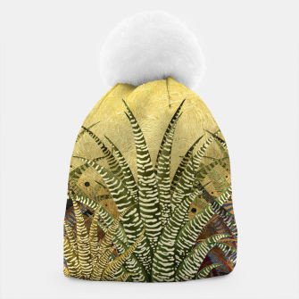 "Miniaturka ""GOLDEN ALOE ZEBRA MIDNIGHT SUN"" Gorro, Live Heroes"