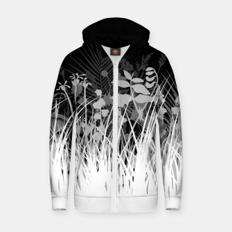 Thumbnail image of Secret Garden Cotton zip up hoodie, Live Heroes