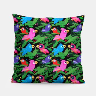 Pink Jungle Birds – Pillow thumbnail image