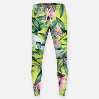 Floral Cure Cotton sweatpants Bild der Miniatur
