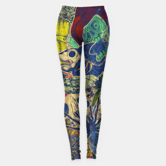Thumbnail image of Second Color Stickers Leggings, Live Heroes