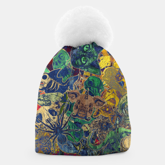 Thumbnail image of Second Color Stickers Beanie, Live Heroes