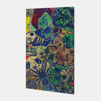 Thumbnail image of Second Color Stickers Canvas, Live Heroes