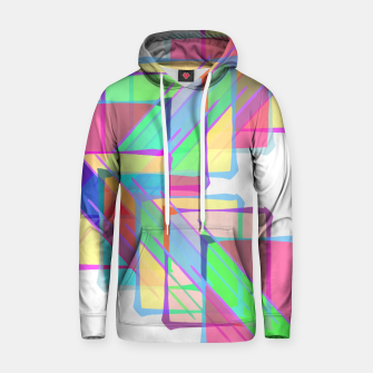 Thumbnail image of Stained Glass Cotton hoodie, Live Heroes