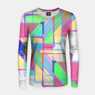 Thumbnail image of Stained Glass Woman cotton sweater, Live Heroes