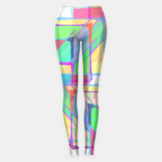 Thumbnail image of Stained Glass Leggings, Live Heroes