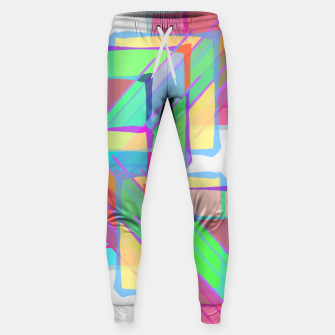 Thumbnail image of Stained Glass Cotton sweatpants, Live Heroes