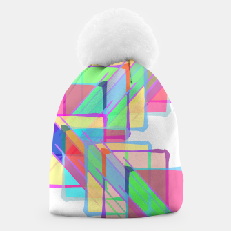 Thumbnail image of Stained Glass Beanie, Live Heroes