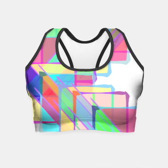 Thumbnail image of Stained Glass Crop Top, Live Heroes