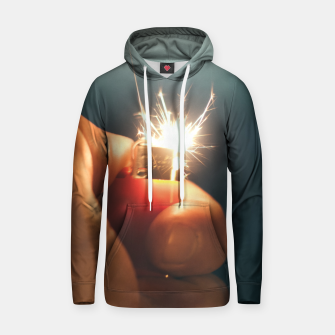 Thumbnail image of Flame And Sparks Cotton hoodie, Live Heroes