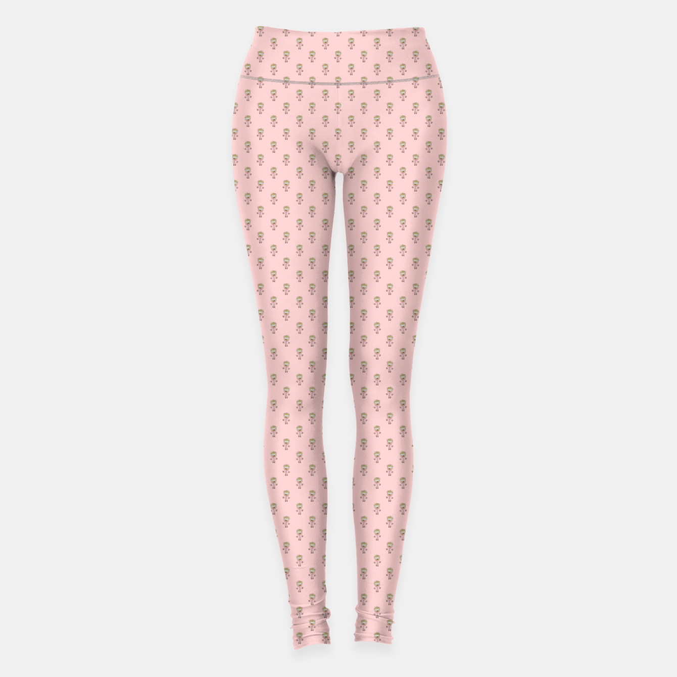 9dadf0664 Hedgehog Forest Friends All-Over Repeat Pattern on Baby Pink ...