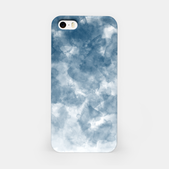 Thumbnail image of Blue Watercolour Effect iPhone Case, Live Heroes