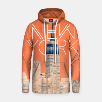 The Big Apple Cotton hoodie thumbnail image