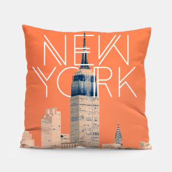 The Big Apple Pillow miniature