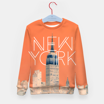 Thumbnail image of The Big Apple Kid's sweater, Live Heroes
