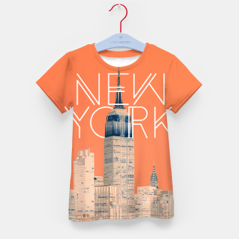 Thumbnail image of The Big Apple Kid's t-shirt, Live Heroes