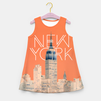 The Big Apple Girl's summer dress miniature