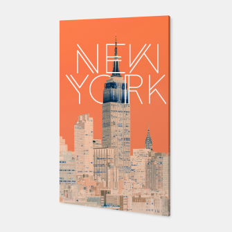 The Big Apple Canvas miniature