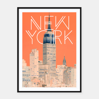 The Big Apple Framed poster miniature