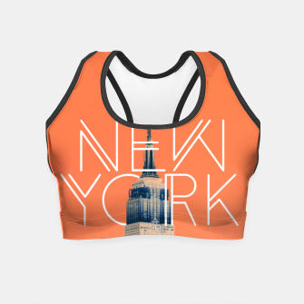 Thumbnail image of The Big Apple Crop Top, Live Heroes