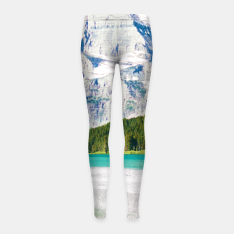 Miniature de image de The Perfect Vacay Girl's leggings, Live Heroes
