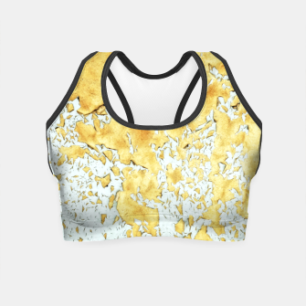 Thumbnail image of Gold Crop Top, Live Heroes