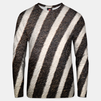 Thumbnail image of Zebra Stripe Fur Design Cotton sweater, Live Heroes