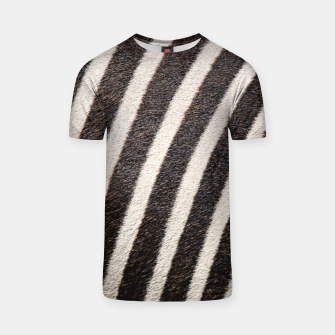 Thumbnail image of Zebra Stripe Fur Design T-shirt, Live Heroes