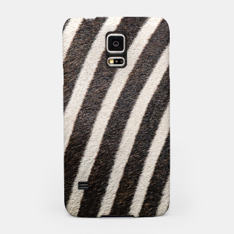 Thumbnail image of Zebra Stripe Fur Design Samsung Case, Live Heroes