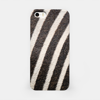 Thumbnail image of Zebra Stripe Fur Design iPhone Case, Live Heroes