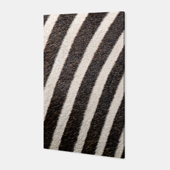 Thumbnail image of Zebra Stripe Fur Design Canvas, Live Heroes