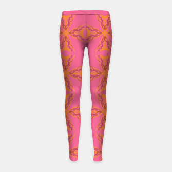 Thumbnail image of Leggings ethnic pink, gold VINT. summer, Live Heroes