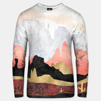 Thumbnail image of Distant Desert Cotton sweater, Live Heroes