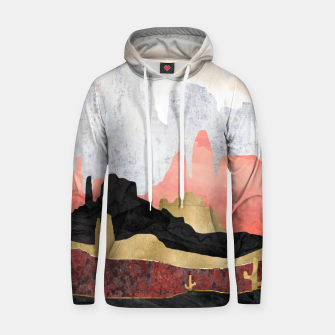 Thumbnail image of Distant Desert Cotton hoodie, Live Heroes