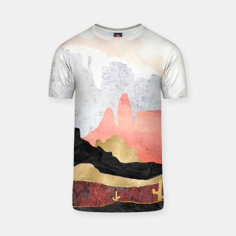 Thumbnail image of Distant Desert T-shirt, Live Heroes