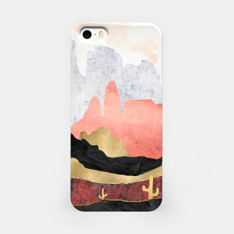 Thumbnail image of Distant Desert iPhone Case, Live Heroes