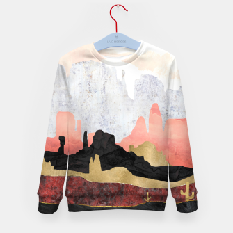 Thumbnail image of Distant Desert Kid's sweater, Live Heroes