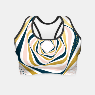 Thumbnail image of Swirly Vision Crop Top, Live Heroes