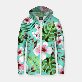 Thumbnail image of Lovely    Cotton zip up hoodie, Live Heroes