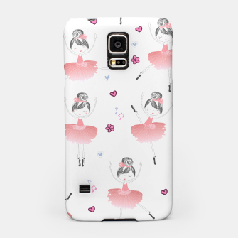 Thumbnail image of Little Dancing Ballerinas Pattern Samsung Case, Live Heroes