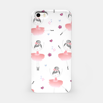 Thumbnail image of Little Dancing Ballerinas Pattern iPhone Case, Live Heroes