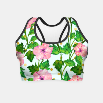 Thumbnail image of Blush Blossom Crop Top, Live Heroes
